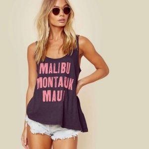 NWOT Sundry Malibu Montauk Maui Tank Top